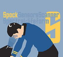 S is for Spock and Scanner by matterdeep