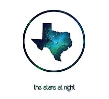 The Stars at Night - Deep in the Heart of Texas Photographic Print