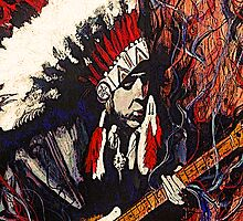 """""""Chief Stevie"""" by Kevin J Cooper"""