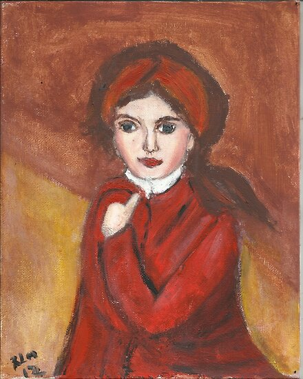 Portrait Of Countess Golovin(after Elisabeth Vigee LeBrun(OriginalSold$) by RobynLee