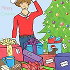 Harry Styles One Direction Christmas by meow-or-never10
