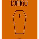Django custom movie poster by Dan Koskie