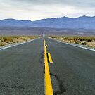 Highway 190 Death Valley California  by PhotoStock-Isra