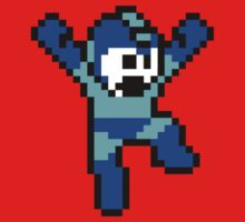 Mega Man NES Sprite by chrisbarton303