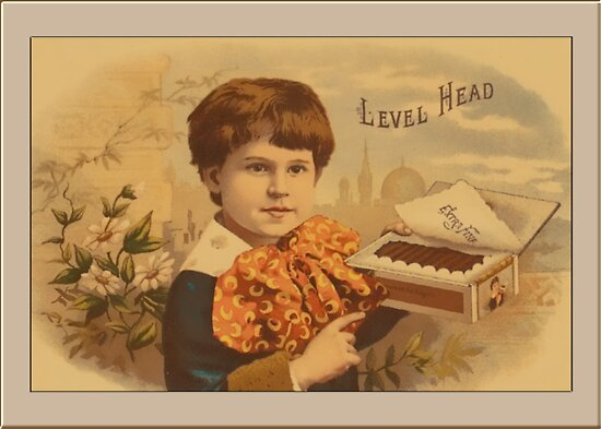 Level Head Advertising Greetings by Yesteryears