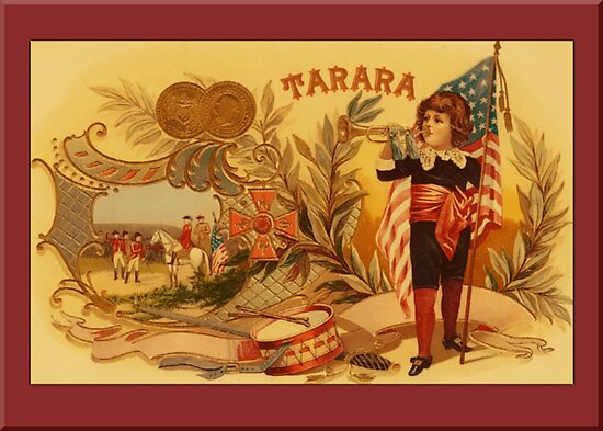 Tarara Advertising Greetings by Yesteryears