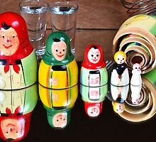 Matryoshka dolls by 7horses