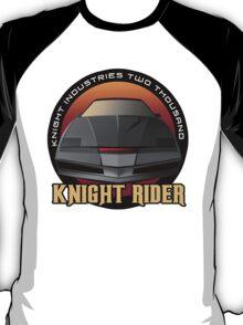 Knight Rider Logo KITT Car T-Shirt