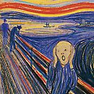 Munch, The Scream by Albo92