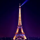 Eiffel Tower in colours by natureloving