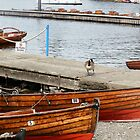 Boats at Lake Windermere by JenniferLouise
