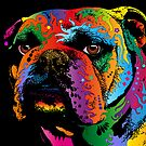 Bulldog by ArtPrints