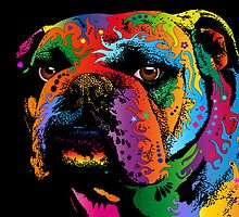 Bulldog by Michael Tompsett