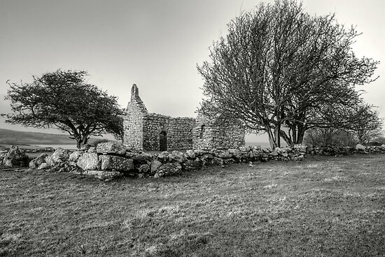 Lligwy Chapel of Ease, Angelesey by Anna Phillips