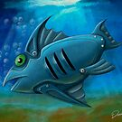 Robot Fish by davidkyte