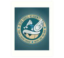 Blue Shell Academy Art Print