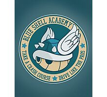 Blue Shell Academy Photographic Print