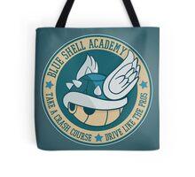 Blue Shell Academy Tote Bag