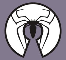 Open Source Spider Man - Black on White by Ozh !
