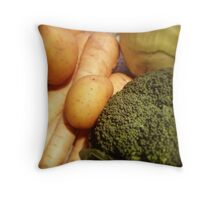 Veg Throw Pillow