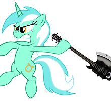 Lyra loves axe bass guitar by amigoeliaborri