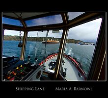 Shipping Lane - - Posters & More by Maria A. Barnowl