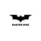 Raster Rise 8-Bit Black by RedRobot