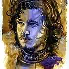 Game of Thrones: Jon Snow by kenmeyerjr