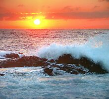 Sunrise Surf and Sea HDR by Colin J Williams Photography