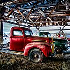 Old Trucks in HDR #11 by peaceofthenorth