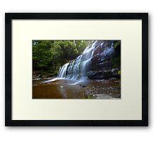 HDR Liffey Falls, Tasmania Framed Print