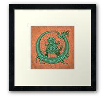 aghira jade Framed Print