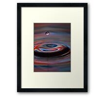 Single Drop Framed Print