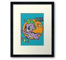 Spike The Dragon Framed Print