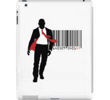 Agent 47 Barcode iPad Case/Skin