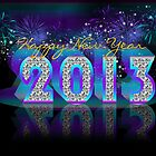 Happy New Year 2013 by Moonlake