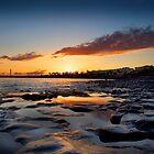 Lanzarote Lighthouse Sunset by EdPettitt