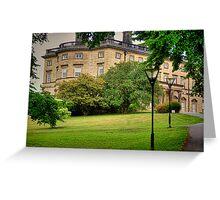 Bretton Hall, West bretton Greeting Card
