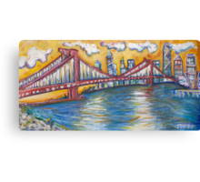 Manhattan Bridge - NYC Canvas Print