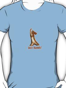 Jazz Hands dancing Squirrel  dance number  T-Shirt
