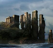Sea Castle by VIGGART