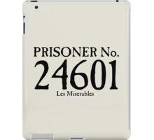 Les Miserables - Prisoner No. 24601 iPad Case/Skin