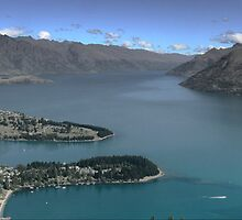 Wakatipu From The Top by cullodenmist