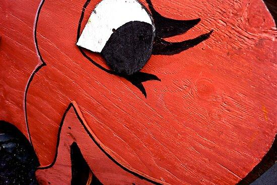 A Big Red Fish by Mary Ellen Garcia