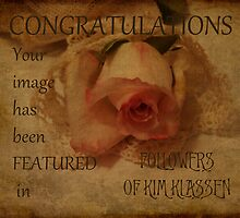Congratulations Banner  by Sandra Foster