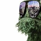 Oscar the Grouch by christopher tully