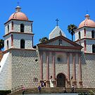 Mission Santa Barbara by 2HivelysArt