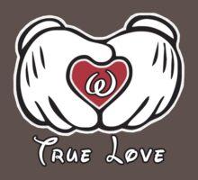 TRUE LOVE - INITIALS - W by mcdba