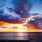 Daisy's Sunset - Jindalee Beach by Tyson Battersby