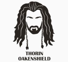 An Unexpected Sticker: Thorin Oakenshield by geeksweetie
